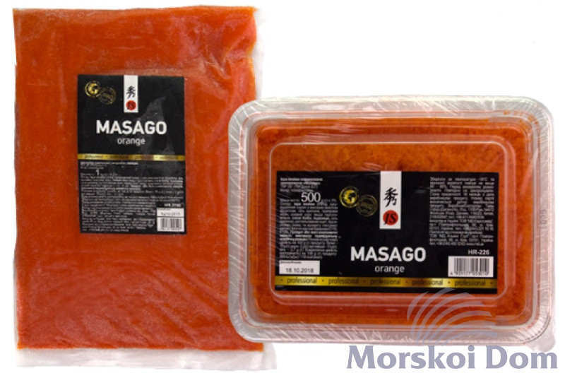 "Capelin Roe ""Masago"", Orange"