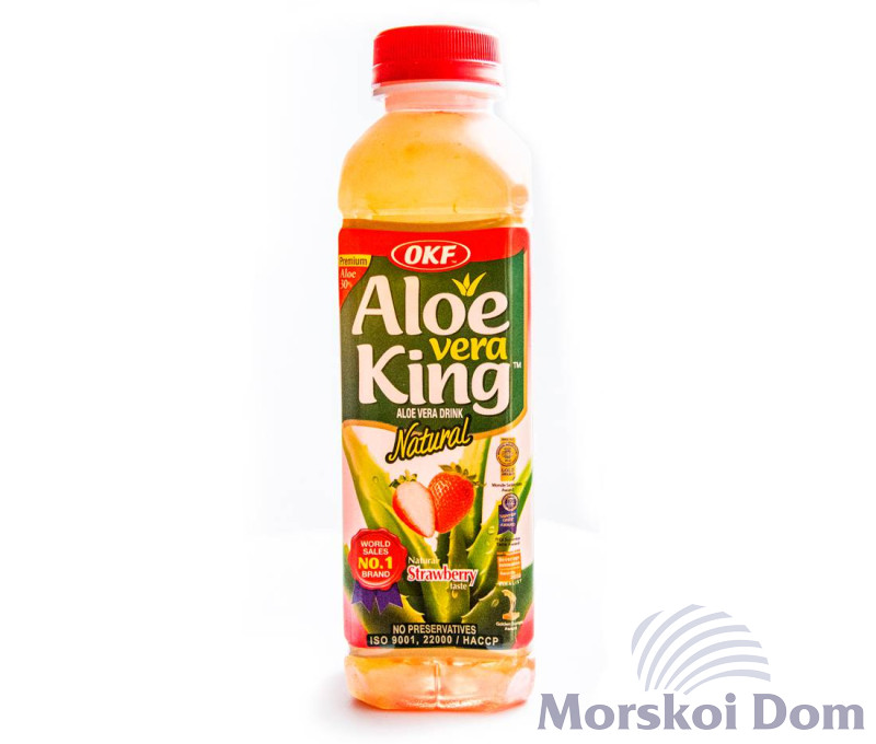 "Напій ""Aloe Vera King Strawberry"""