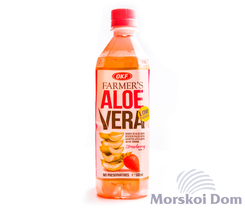 "Напій ""Farmers Aloe Strawberry"""