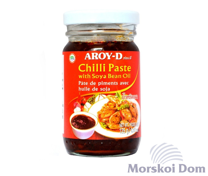 Chilli Paste with Soybean Oil