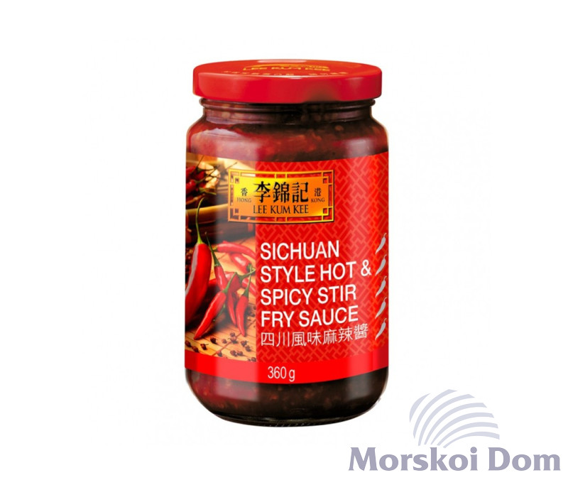Sichuan Style Hot&Spicy Stir Fry Sauce