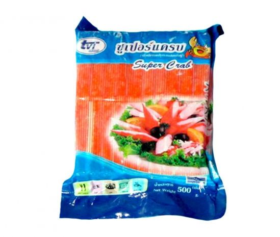 "Crab Sticks ""Super Crab"", Surimi Imatation"